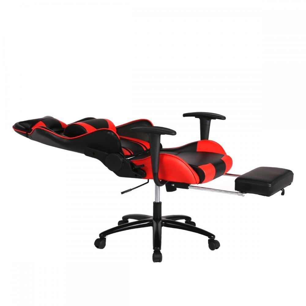 Gaming Chair High Back Office Computer Chair Ergonomic Design Racing Chair  With Footrest
