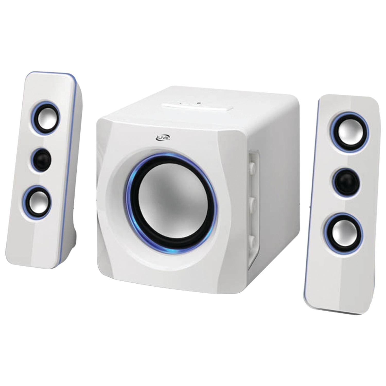 iLive IHB23B Wireless 2.1-Channel Bluetooth System, Black
