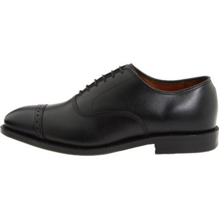 Allen Edmonds Mens Fifth Ave Leather Lace Up Dress Oxfords, Black, Size 12.0