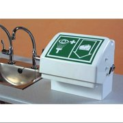 HUGHES SAFETY SHOWERS STD-45G/T Eye/Face Wash Station,Tabletop