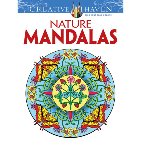 Dover Creative Haven Coloring Book, Nature Mandalas - Mandala Coloring Sheet