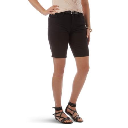 Women's Belted Bermuda Short