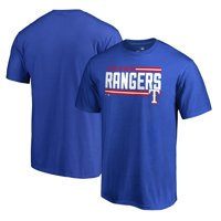 Texas Rangers Fanatics Branded Onside Stripe T-Shirt - Royal