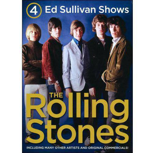 4 Ed Sullivan Shows Starring The Rolling Stones by