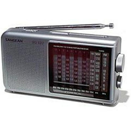 Sangean America AM FM 10 Shortwave World Band Receiver SG 622