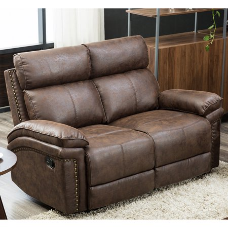 Top Knobs Sectional Recliner Sofa Reclining Loveseat, Manual Recliner for Living Room, - Seat Recliner Sectional
