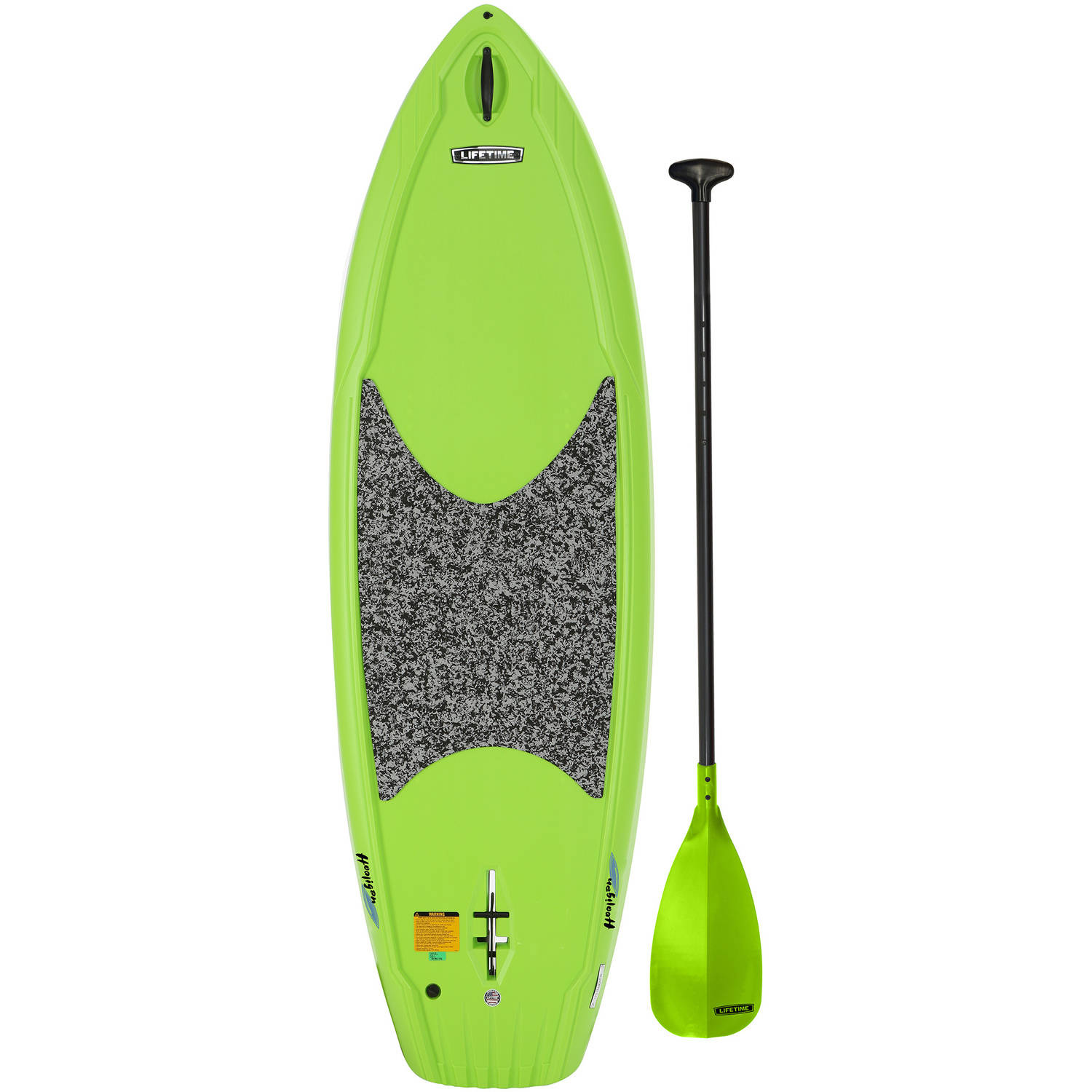 Lifetime Hooligan 80 Youth Stand-Up Paddleboard (Paddle Included), Lime, 90699