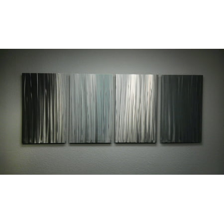 Bamboo Forest- Abstract Metal Wall Art Contemporary Modern Decor by Miles Shay Modern Contemporary Bamboo