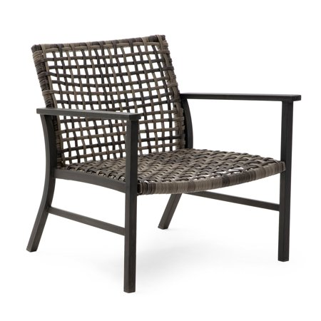 Belham Living Eastport Open Weave All Weather Wicker Deep Seating Chair