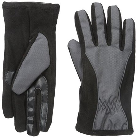 Women's Smartouch Glove with Piping and Thermaflex Core, Charcoal, X-Large