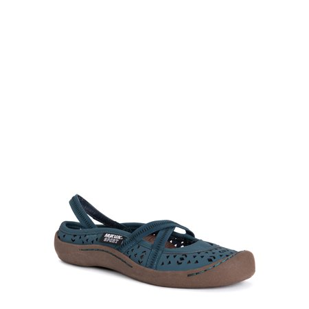 MUK LUKS® Women's Erin Shoes - Lagoona Blue Shoes