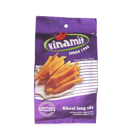 Vinamit Vietnam Sweet Potato Chips   High Quality Food   100 Gram