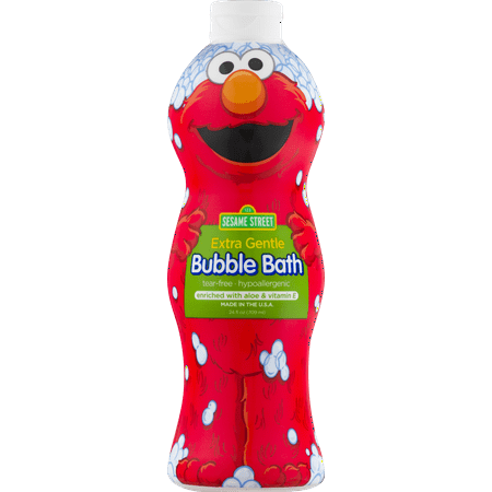 Sesame Street Extra Gentle Bubble Bath Fragrance and Dye Free, 24 (Best Bubble Bath Products)