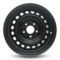 "Road Ready Replacement Black Steel Wheel Rim 15"" For 2013-2015 Honda Civic 5 Lug"