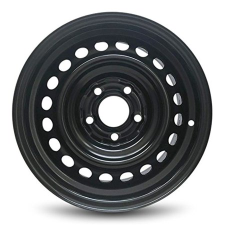Road Ready Replacement Black Steel Wheel Rim 15