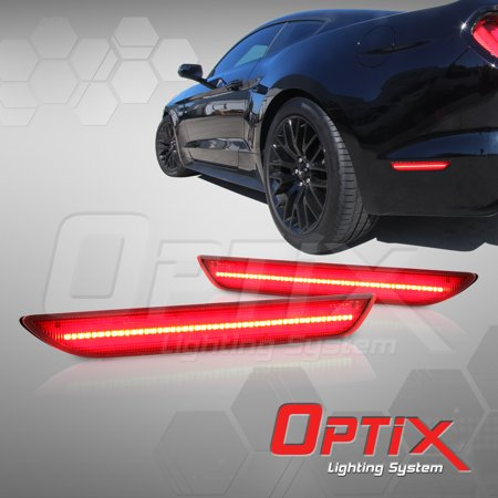 optix 2015 2017 ford mustang rear bumper led side marker light