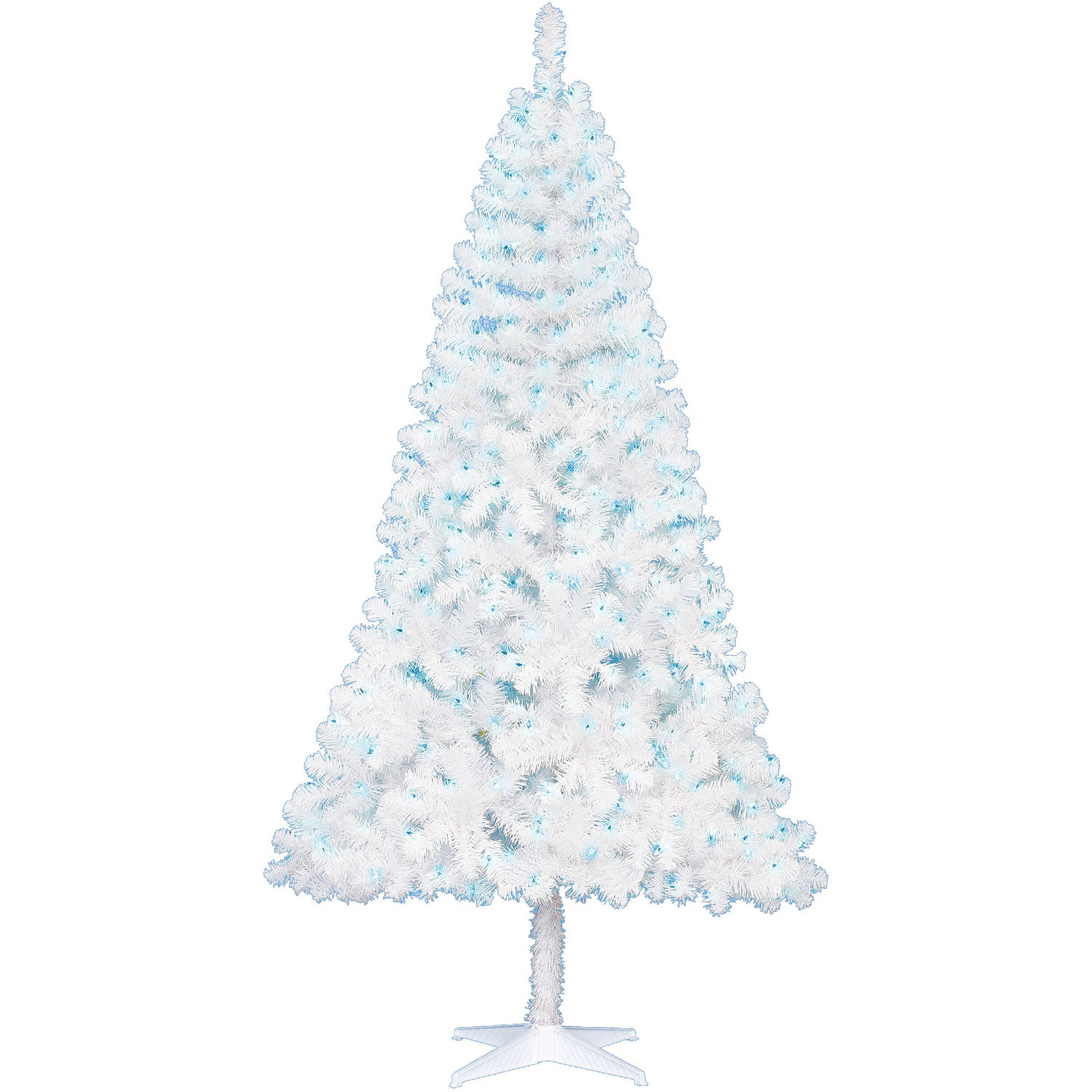 6 Foot White Christmas Tree Part 46 Holiday Time Pre Lit 6 5  - 6 White Christmas Tree