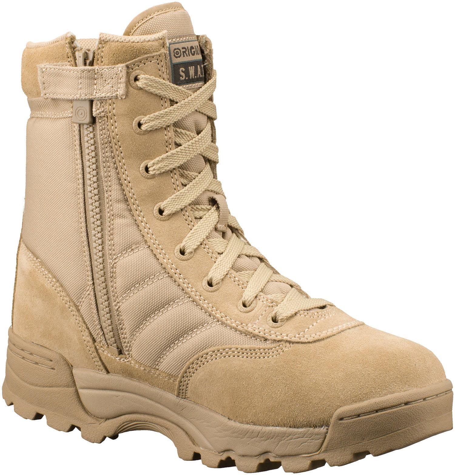 115202 Classic 9 Side-Zip Mens Tan Work Boot-14