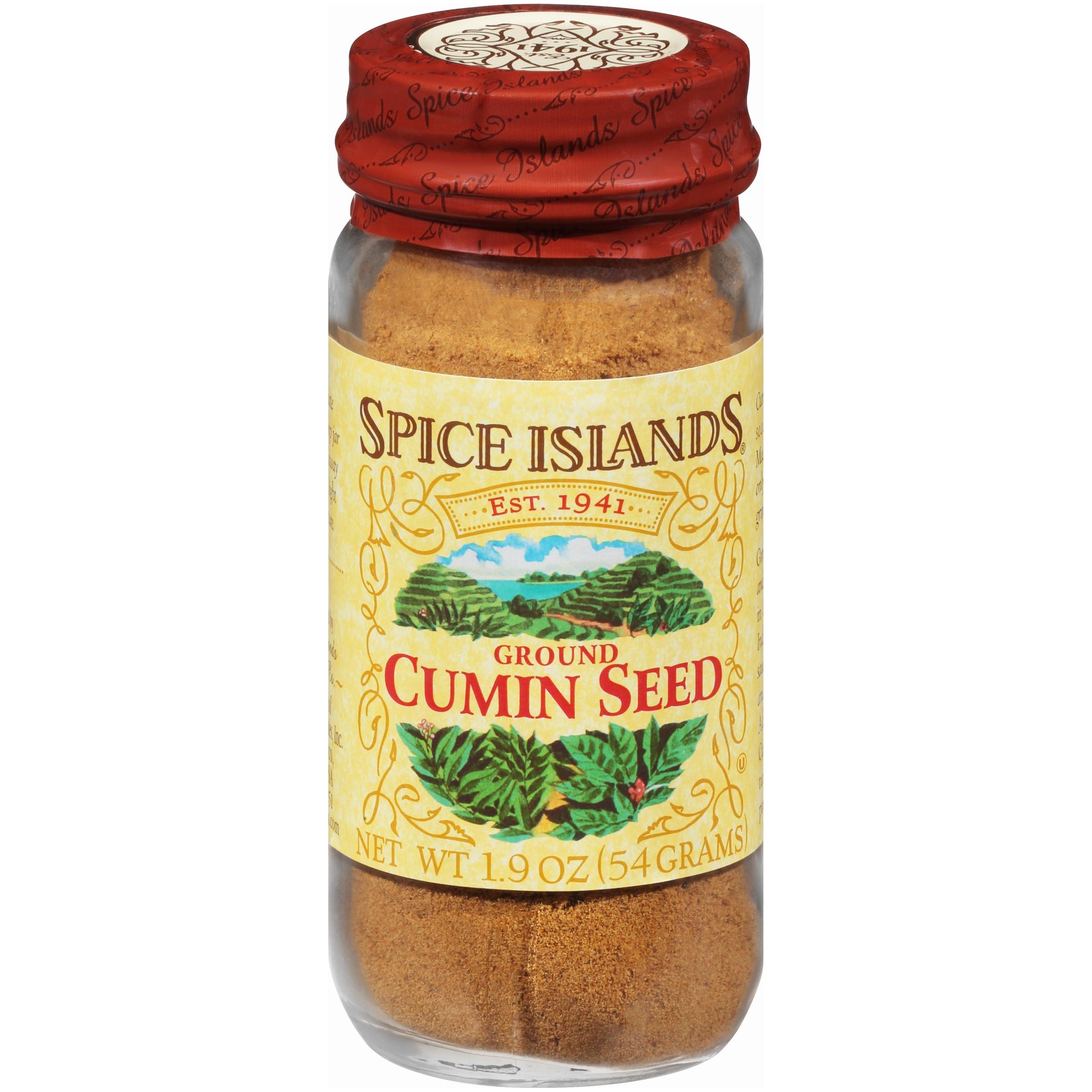 Spice Islands® Ground Cumin Seed 1.9 oz. Jar