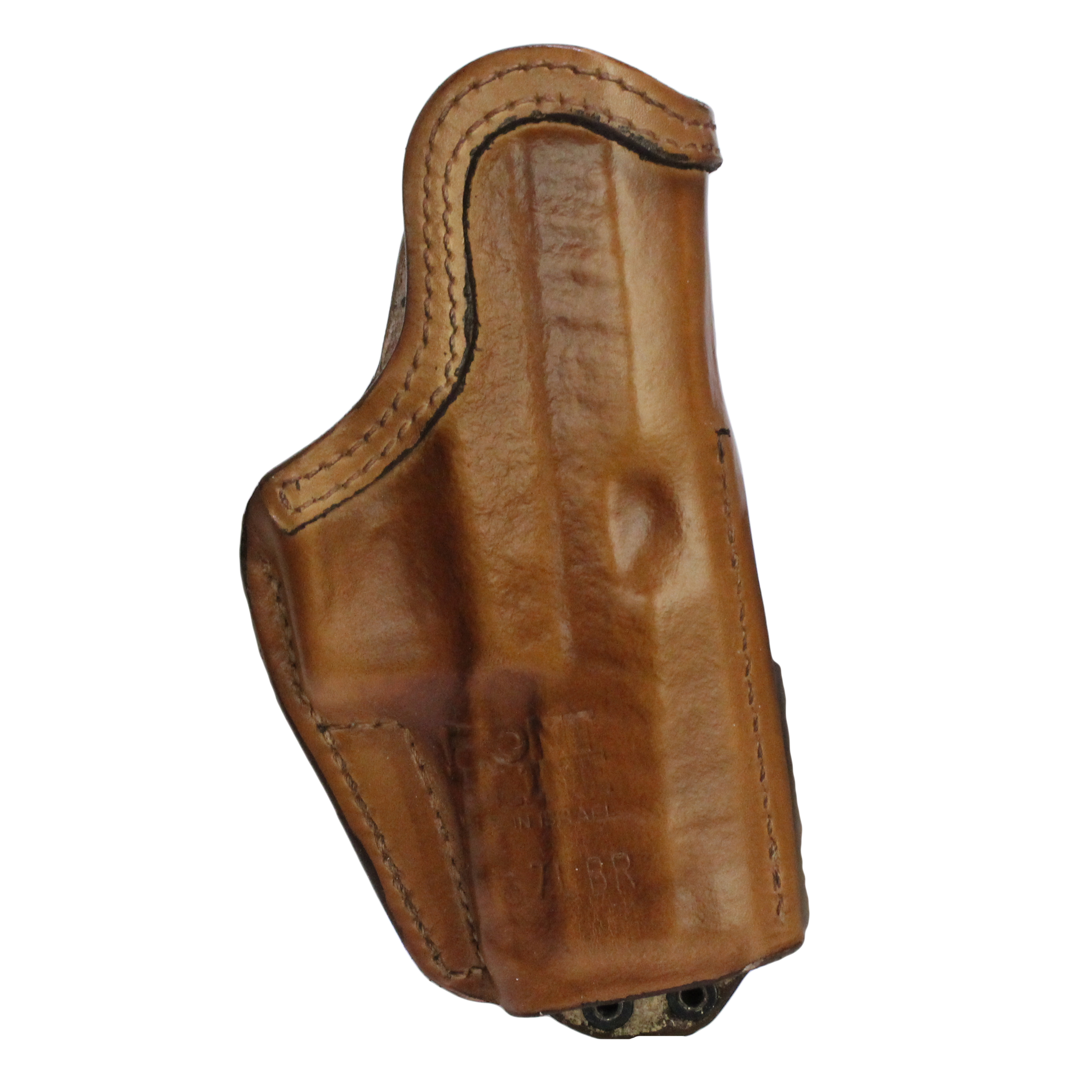 Frontline Inner Waistband Tuckable Leather Holster Walther PPX, Brown, Left Hand
