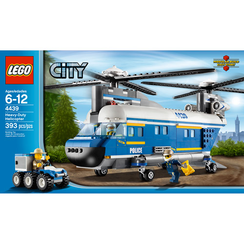 Lego City Heavy-lift Helicopter by LEGO Systems, Inc.