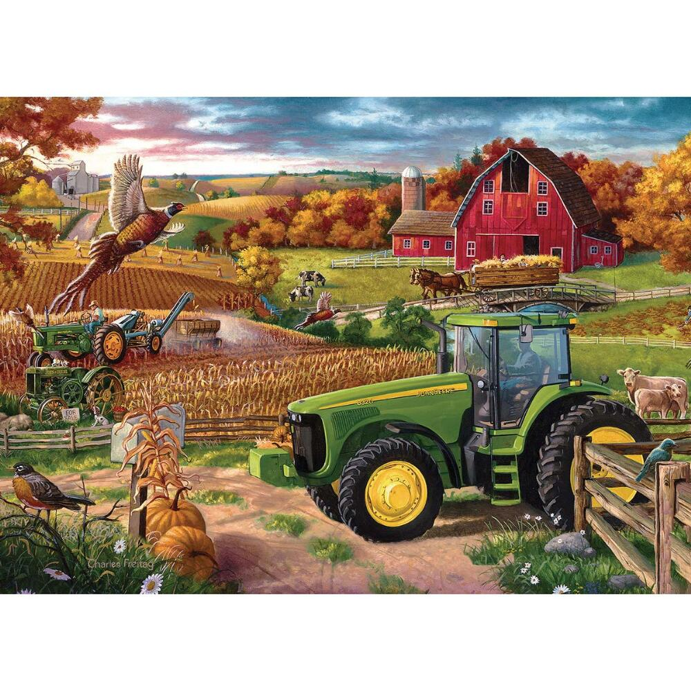 Masterpieces 71519 100 Years of Deere Puzzle - 1000 Piece