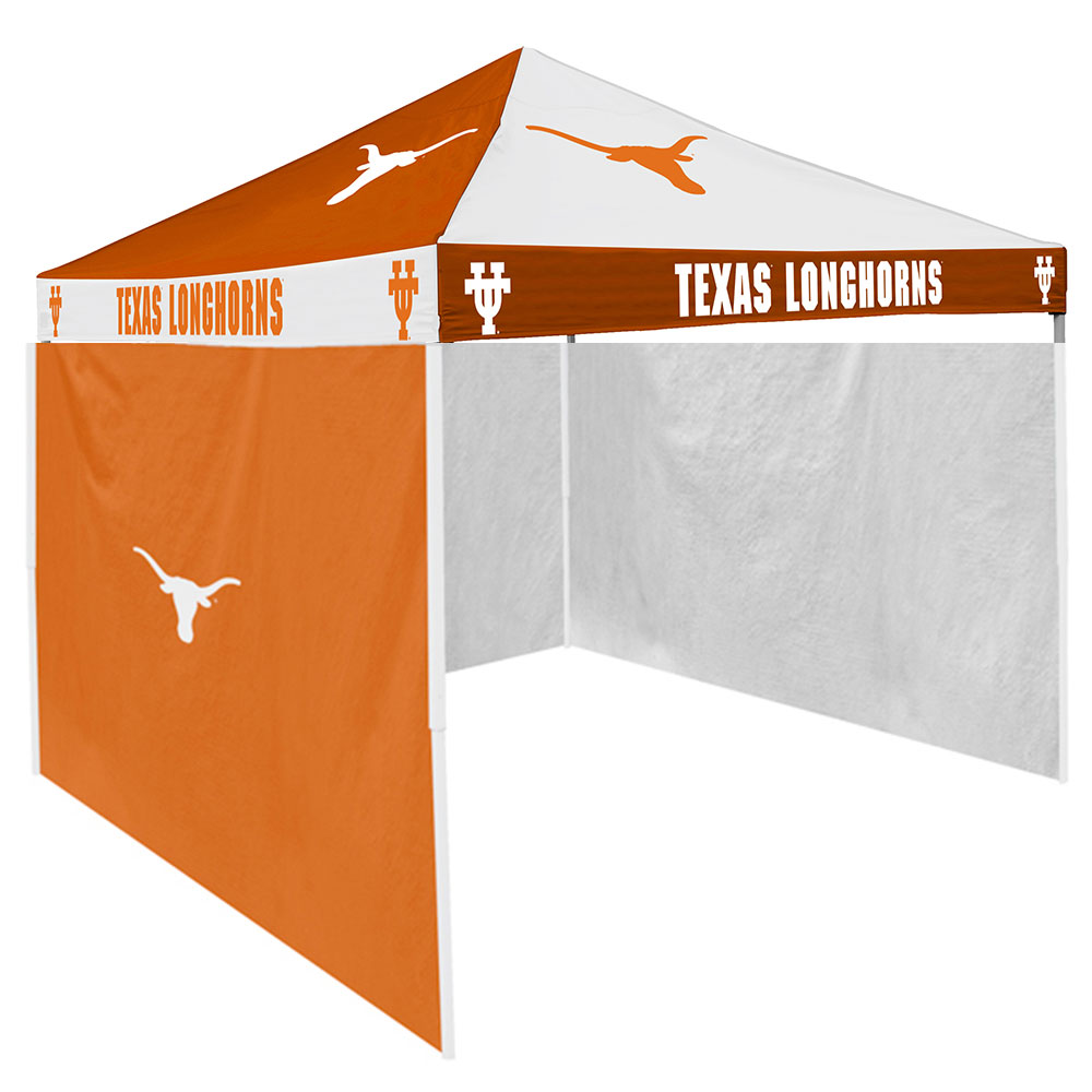 Texas Longhorns NCAA 9' x 9' Checkerboard Color Pop-Up Tailgate Canopy Tent