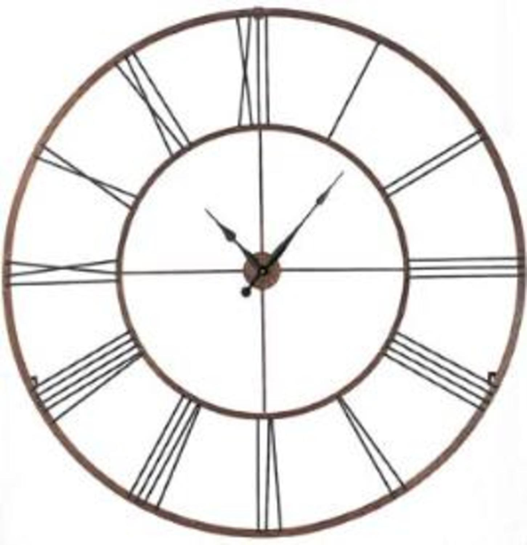"Gigantic 50"" Open Design Classical Roman Numeral Wall Clock"