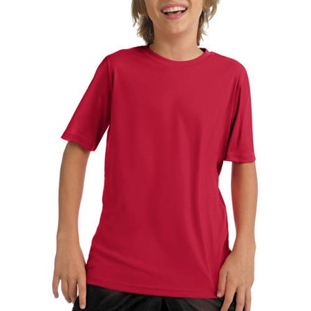 Boys' Short Sleeve CoolDri Performance Tee (50+ UPF - 50 Style Clothing For Boys