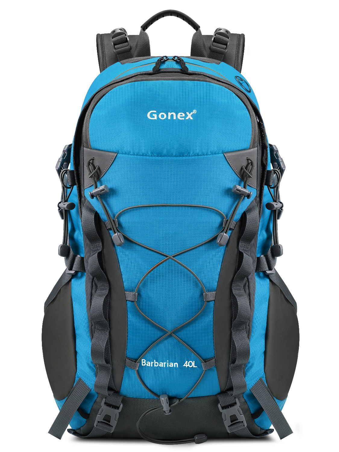 Gonex Barbarian Outdoor Hiking Climbing Backpack Daypacks Waterproof  Mountaineering Bag 40L 7222fb6a9b56f