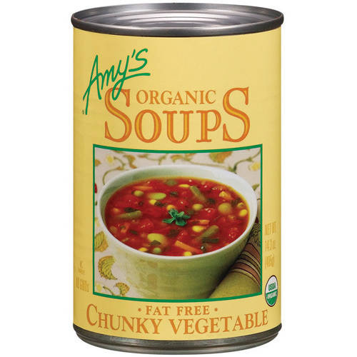 Amy's Organic Soups Fat Free Chunky Vegetable, 14.3 oz