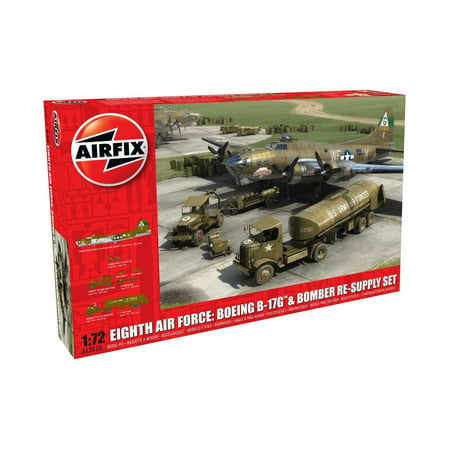 - Airfix Eighth Air Force: Boeing B-17G & Bomber Re-supply Set 1:72