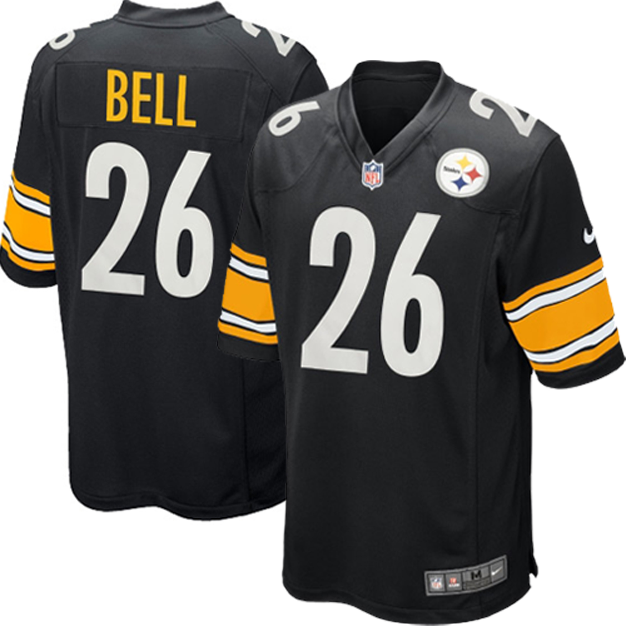 Le Veon Bell Pittsburgh Steelers Nike Youth Team Color Game Jersey ... ed69bf172