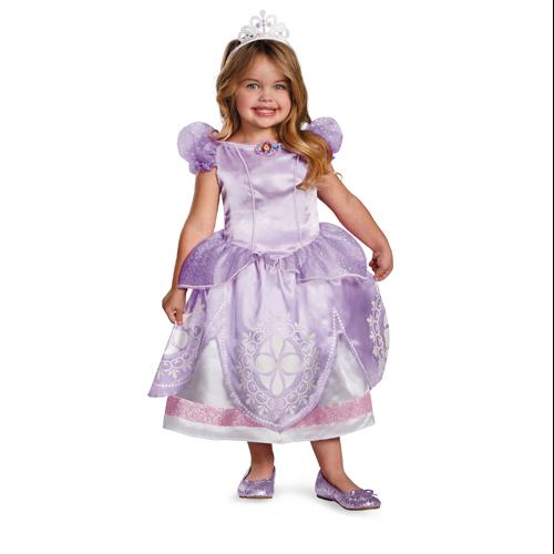 Disney Sofia The First Deluxe Girls Princess Costume sz 2T