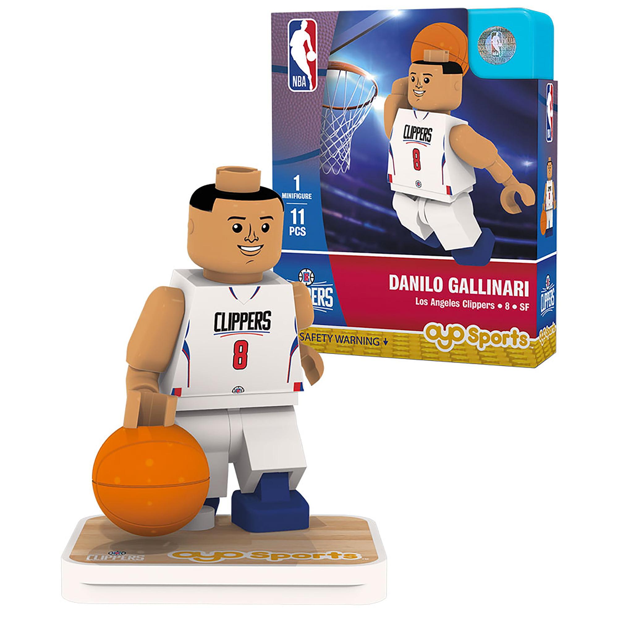 Danilo Gallinari LA Clippers OYO Sports Home Jersey Player Minifigure - No Size
