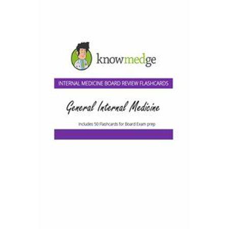 Internal Medicine Board Review Flashcards: General Internal Medicine - eBook