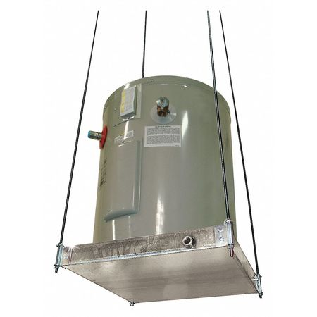 Water Heater Platform,Ceiling Mount ZORO SELECT 30-SWHP-M