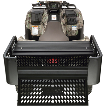 Moose Utility Mesh Drop Rack Black Fits 96-10 Polaris All Plastic Rack Models