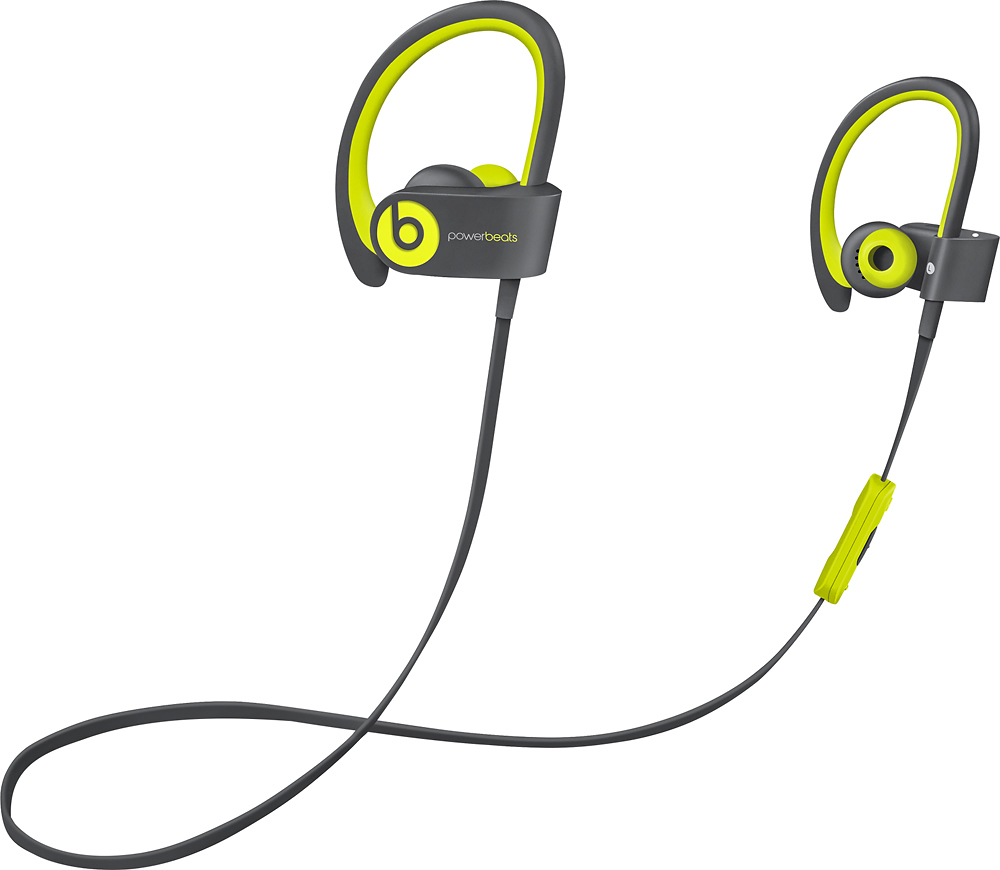 Certified Refurbished -Beats by Dr. Dre Powerbeats 2 Wireless In-Ear  Headphone -Sport Black - Walmart.com 1c6d5641e581