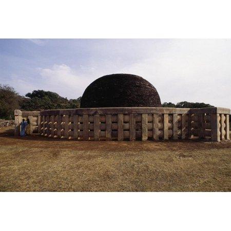 Great Stupa (Unesco World Heritage Site, 1989), Sanchi, Madhya Pradesh, India, 1st Century Bc Print Wall Art](great deals online india)