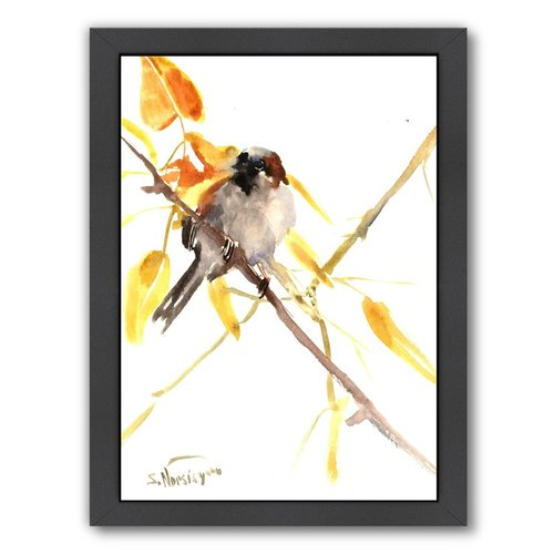 Americanflat Sparrow 3 by Suren Nersisyan Framed Painting Print