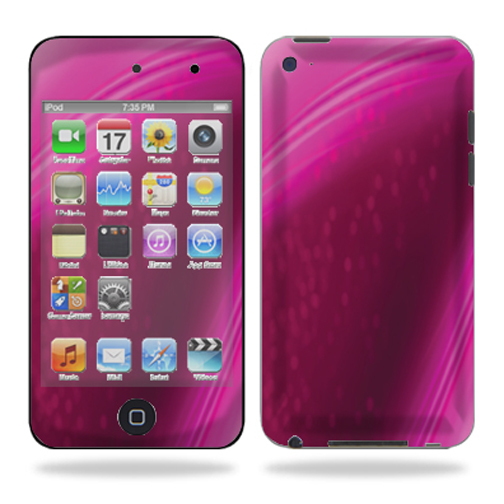 Skin Decal Wrap for iPod Touch 4G 4th Generation – Pink Abstract