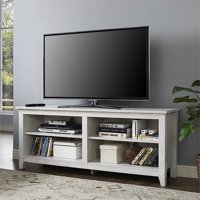 "Kingfisher Lane 58"" TV Stand in White Wash"