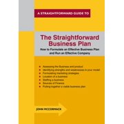 The Straightforward Business Plan - eBook
