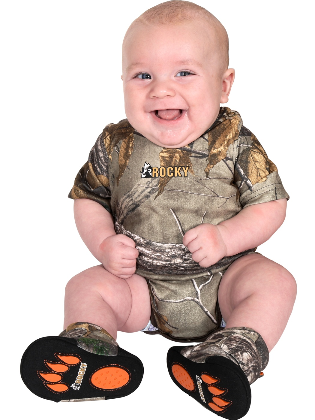 Rocky Kid's SilentHunter Camo Jumpsuit Realtree Xtra 3 Months