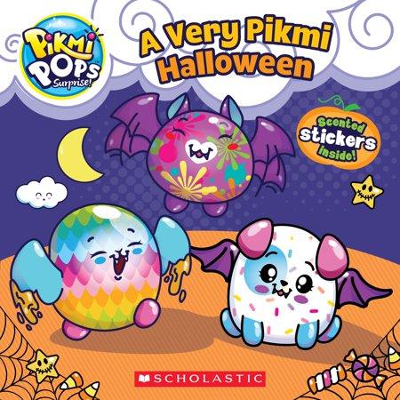 Pop Art Makeup Tutorial Halloween (Pikmi Pops: A Very Pikmi Halloween)