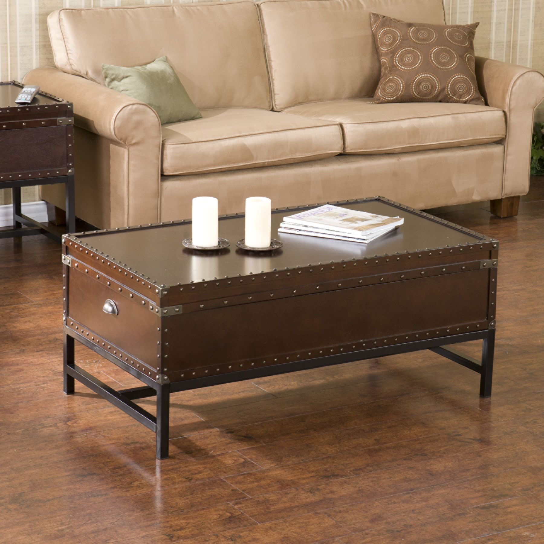 Southern enterprises marco storage coffee table espresso walmart com