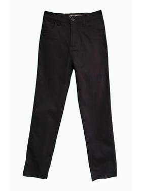 Eddie Bauer Boys 4-16 School Uniform Stretch Twill 5 Pocket Straight Leg Pants