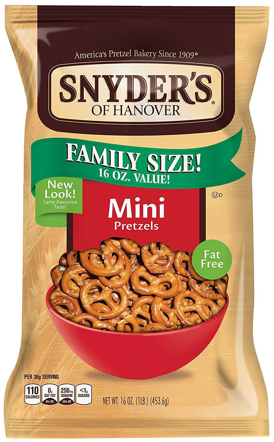 Snyder's of Hanover Pretzels, Mini, 16 Oz by Snyder's-Lance