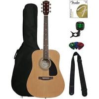 Fender FA-115 Dreadnought Acoustic Guitar - Natural w/ Gig Bag